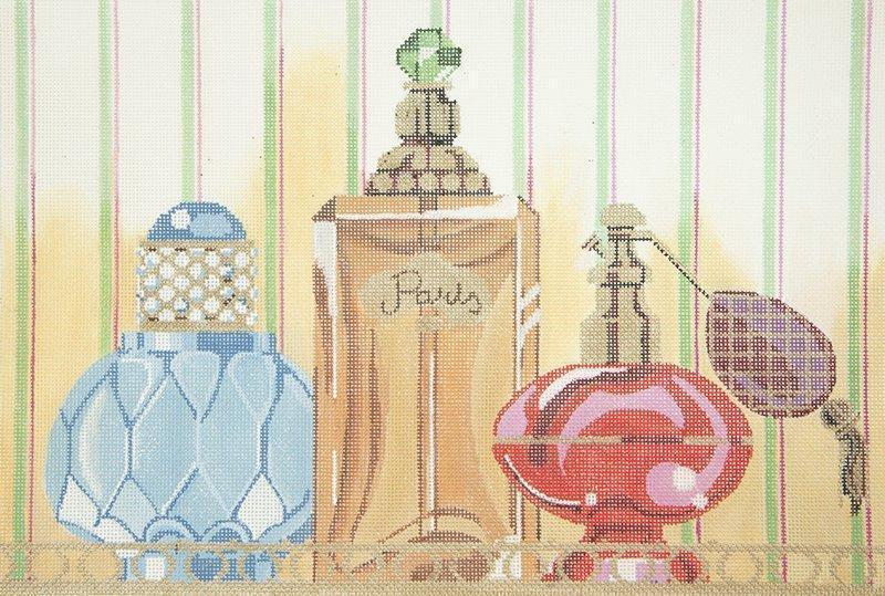 LL150T Perfume Bottles Trio