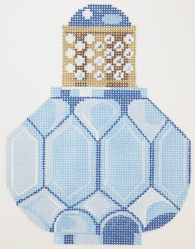 LL150L Perfume Bottle Blue