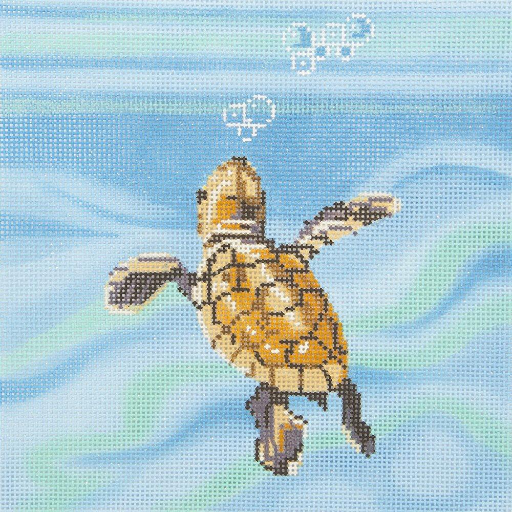 LL327 Baby Sea Turtle Swimming Labors of Love