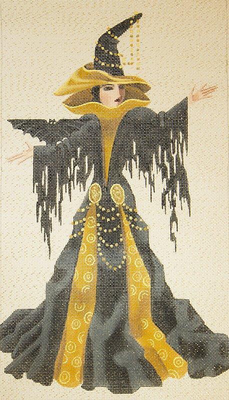 LD5231 Nyla Witchy Women Halloween w Stitch Guide