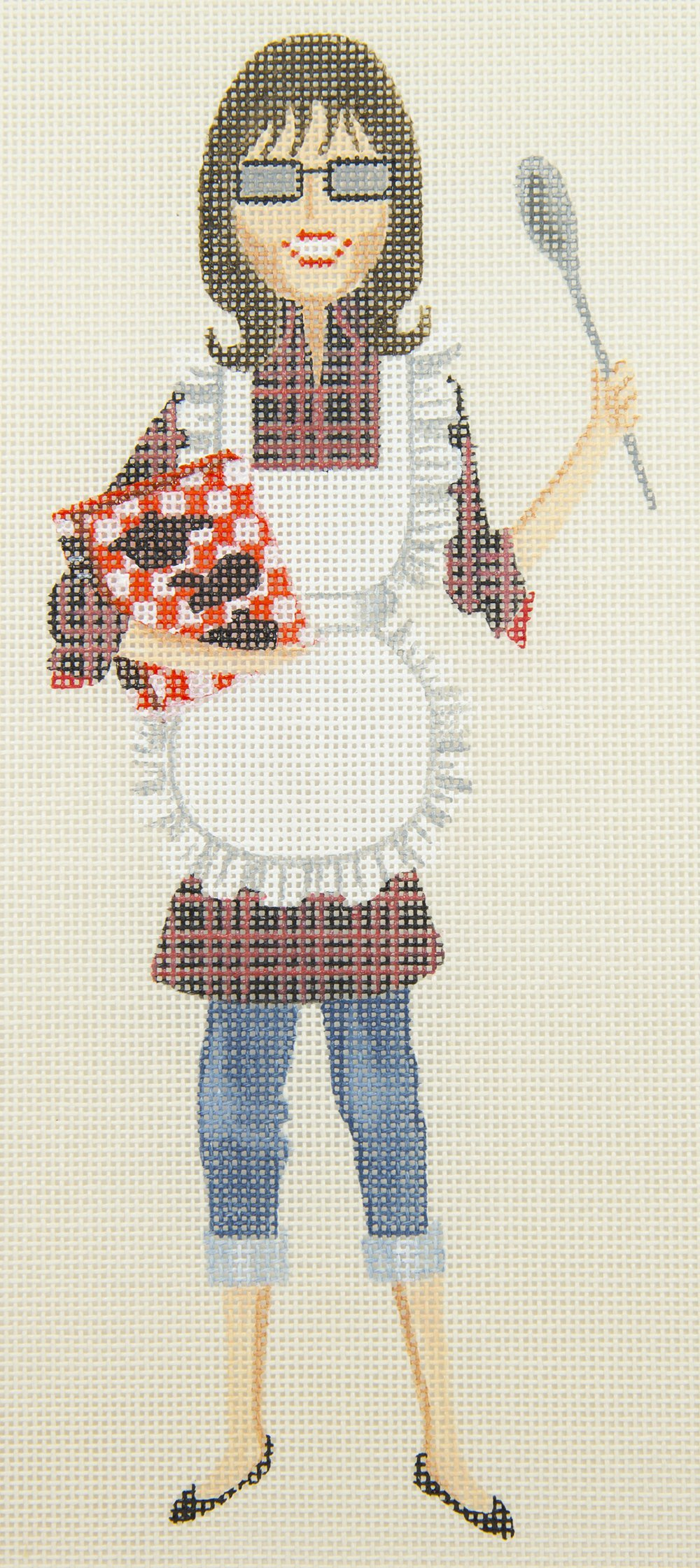 LD5065 Sally Ready to Bake with Stitch Guide Leigh Designs