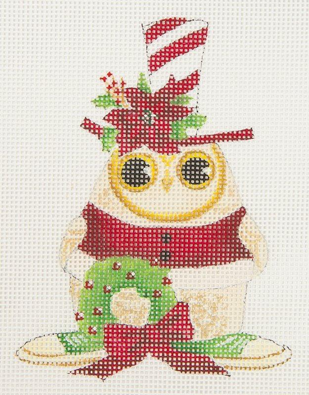 GAX02LYM Top Hat Owl