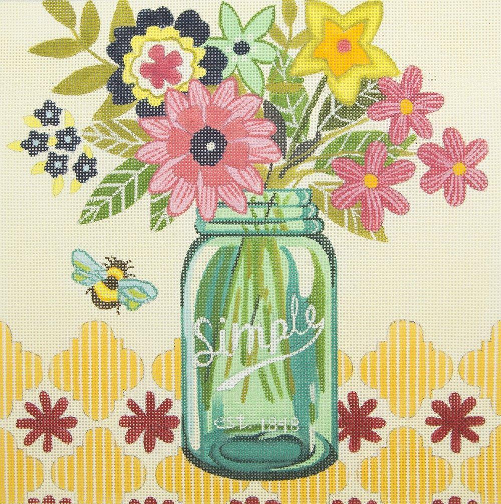 M1935 Simple Flower Vase Ewe & Eye