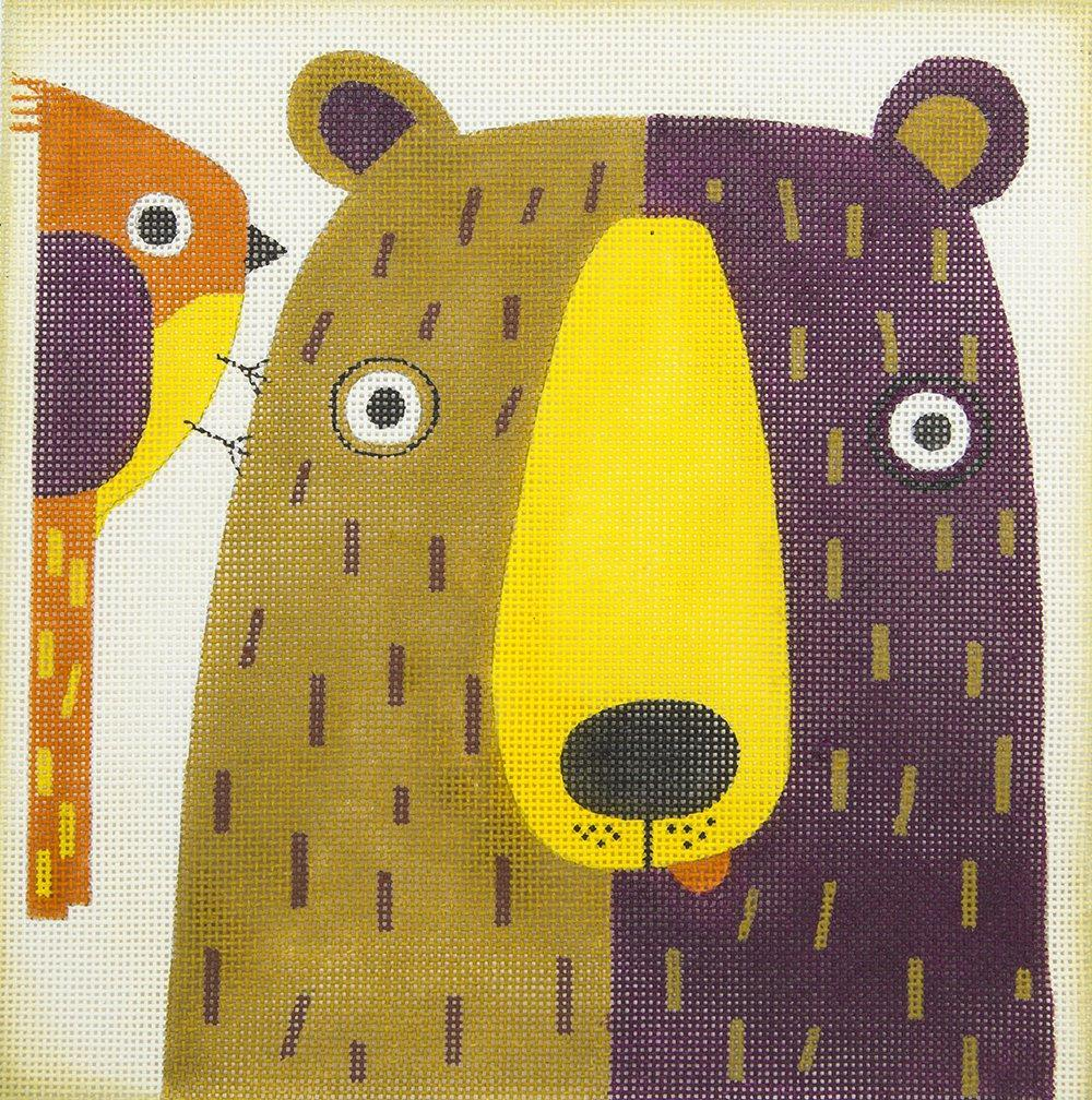 M2004A Goofy Bear and Bird Ewe Eye