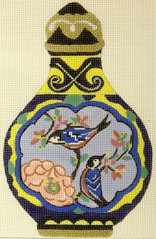 MPA120 Snuff Bottle Birds
