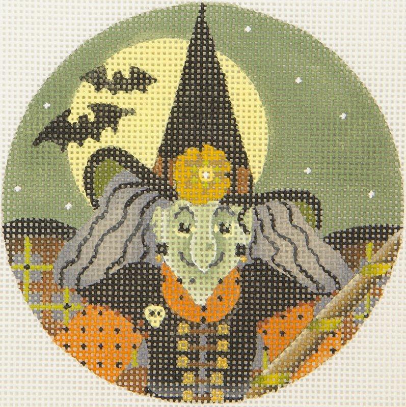 MS1982A Hagatha Halloween Witch Ornament Melissa Shirley