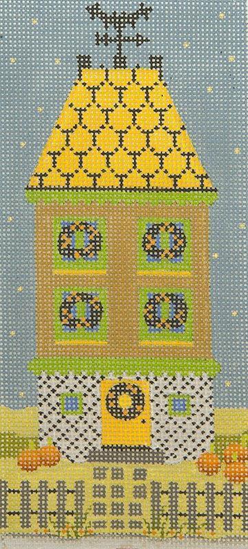 MS2013E Halloween House Weathervane