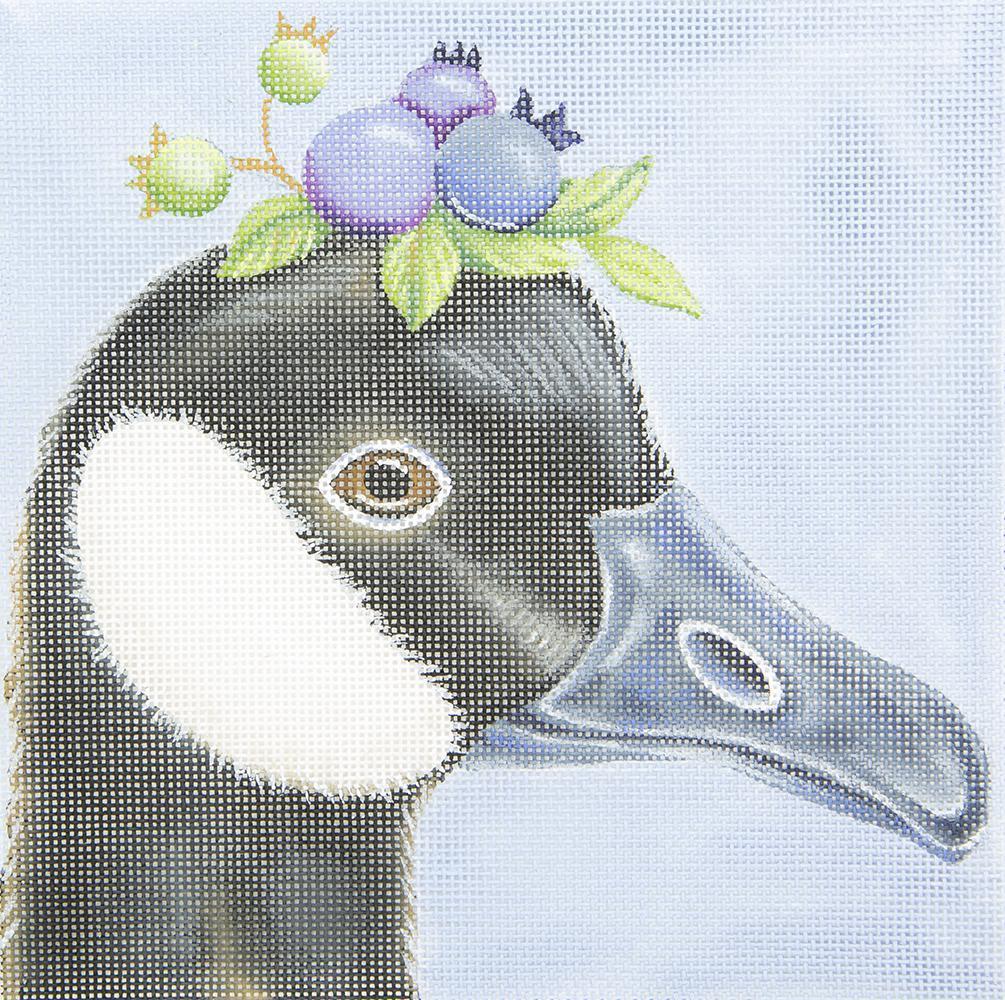 VS272 Canada Goose Blueberry Hat Melissa Shirley Designs