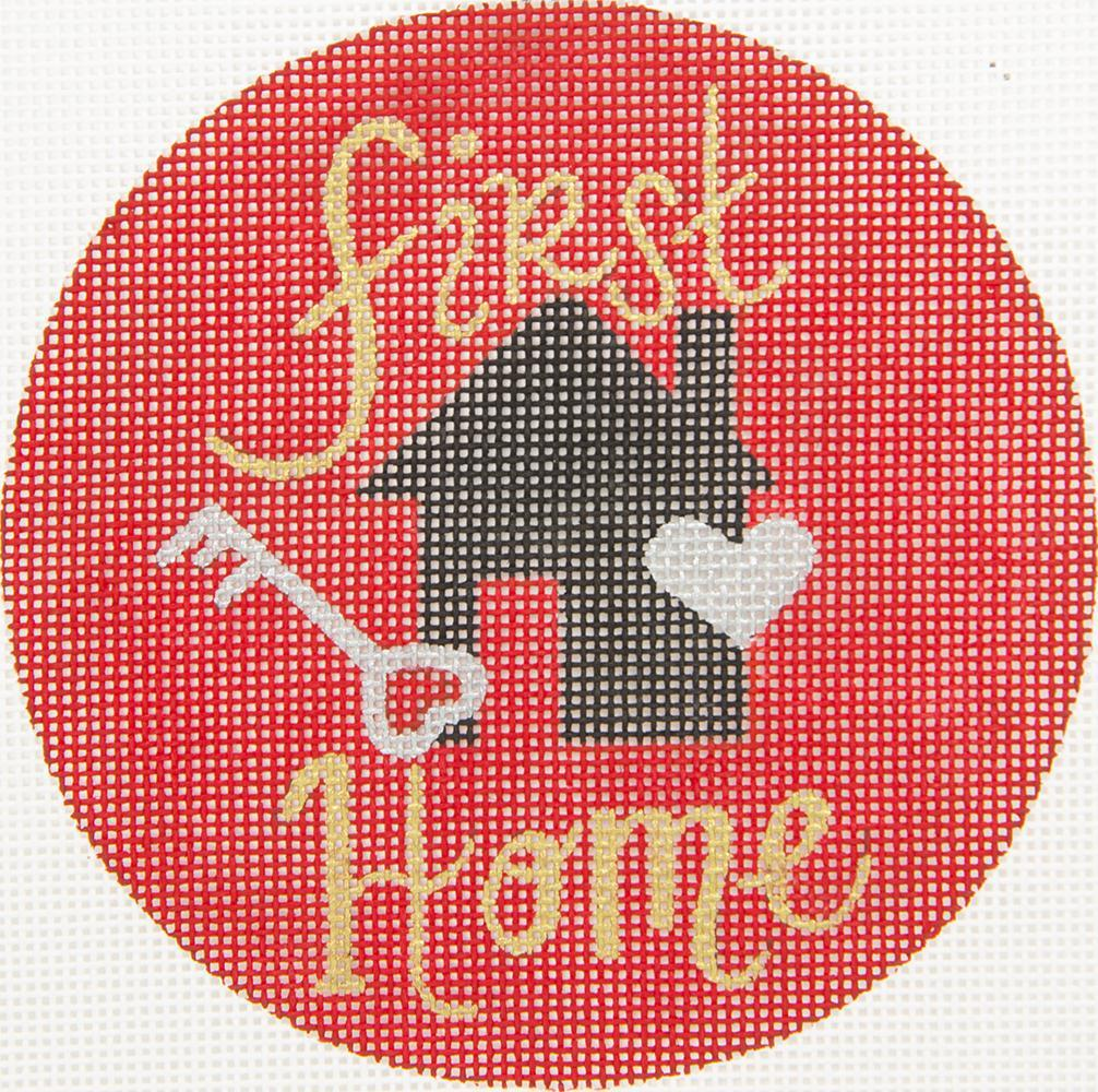 MB4 First Home Oasis Needlepoint