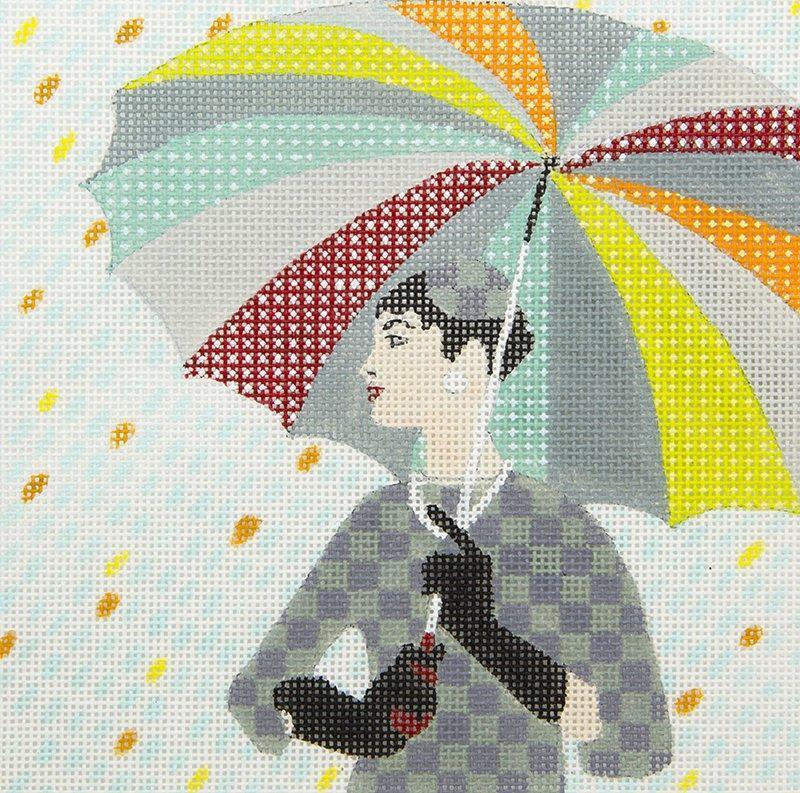 LSHG01 Girl with Umbrella