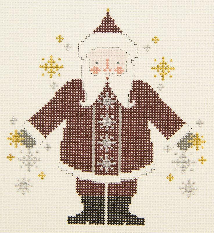 PT785 Snowflake Santa
