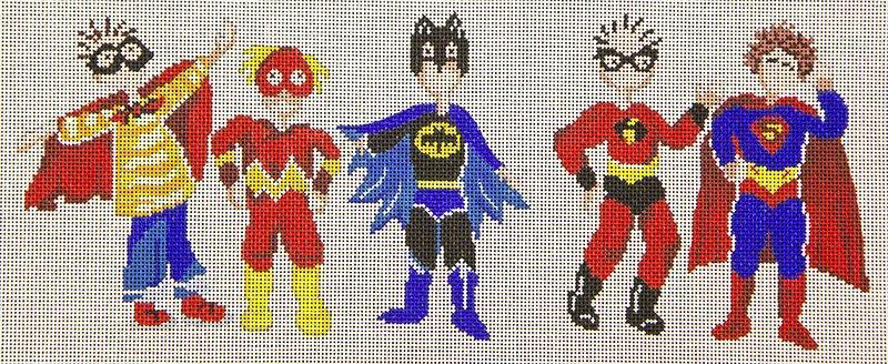 PM11202 ak 5 superheroes Patti Mann
