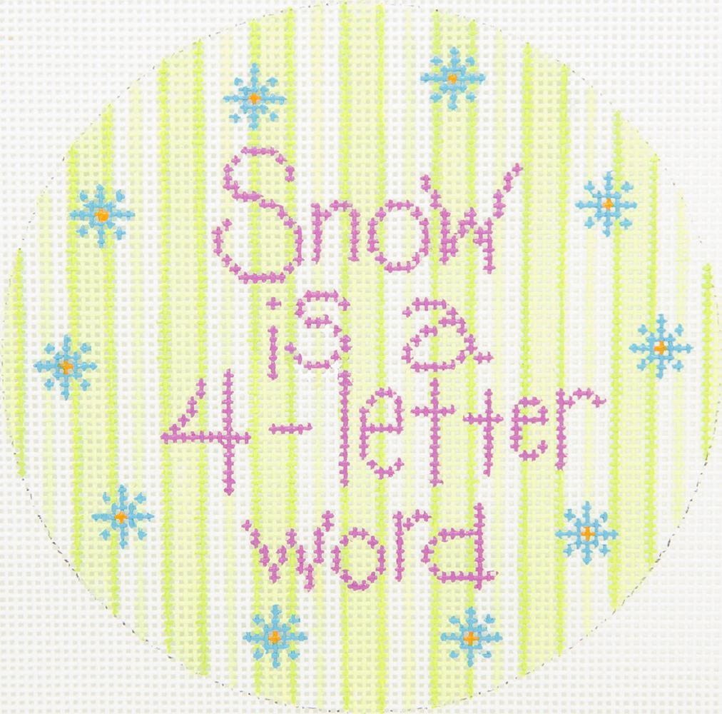 PM40065 Snow is a 4-Letter Word Patti Mann