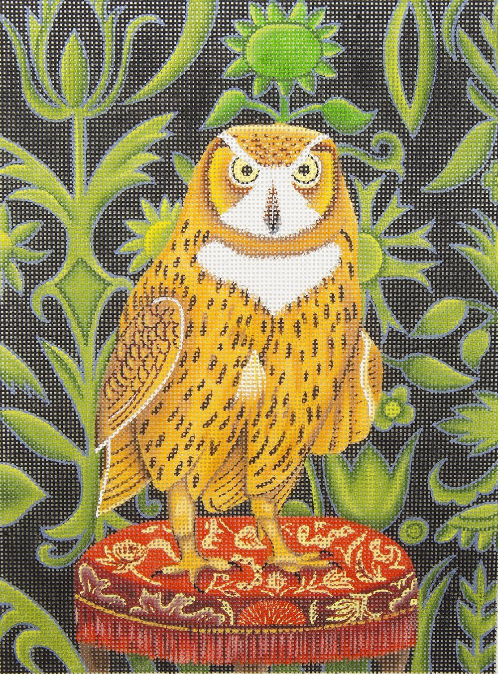 JM1501 Owl on Stool Julie Mar & Friends