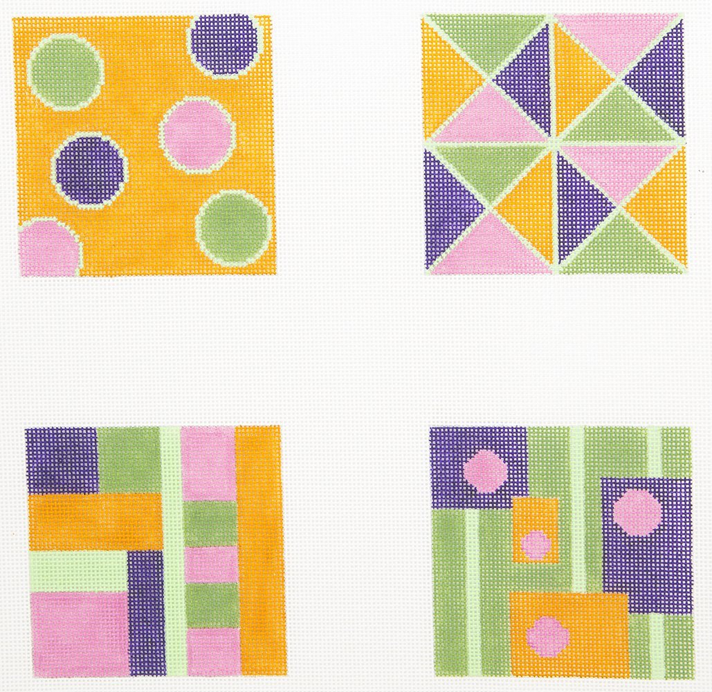 P2PDC08 Op Art Coasters Point2Pointe