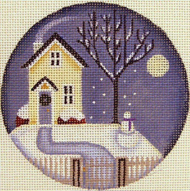 RW1023D Seasonal Cottage Winter