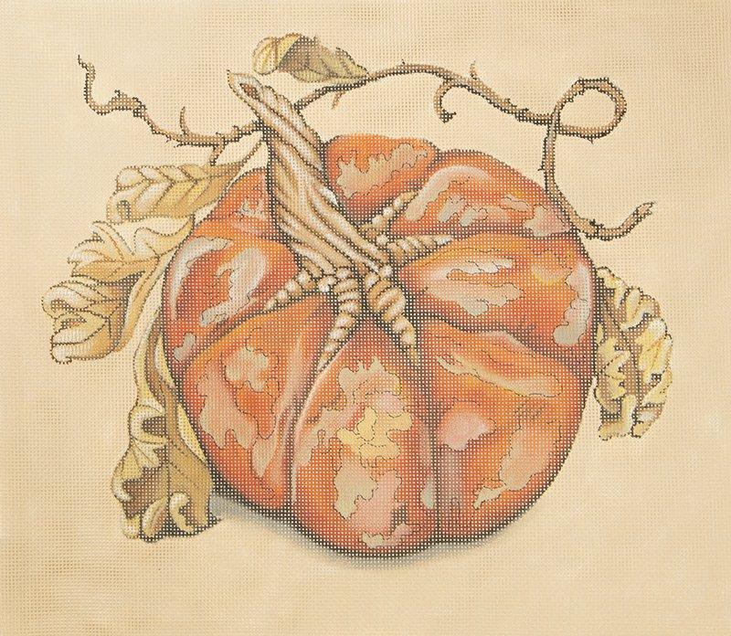 SOIA102 Pumpkin Round Orange