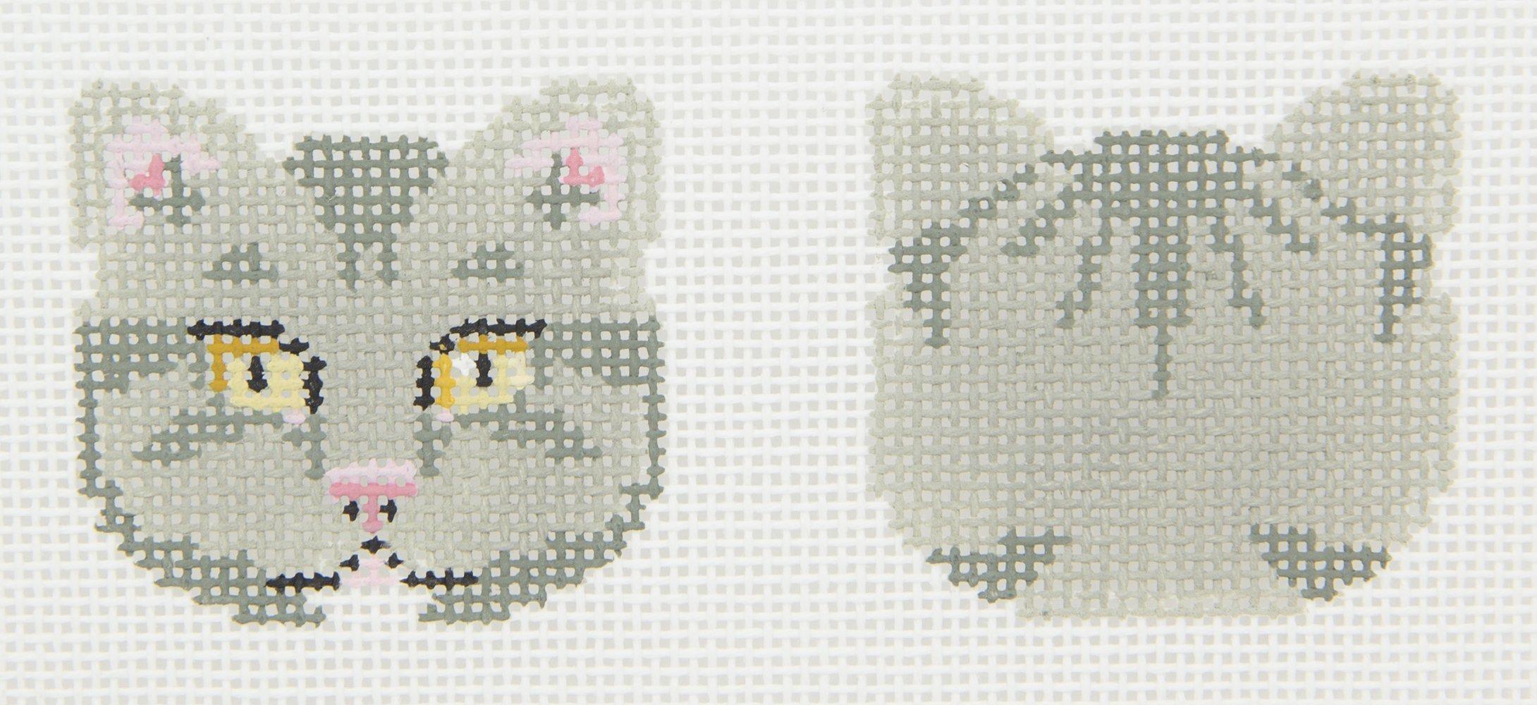 SMA13L Cat Scissors Fob