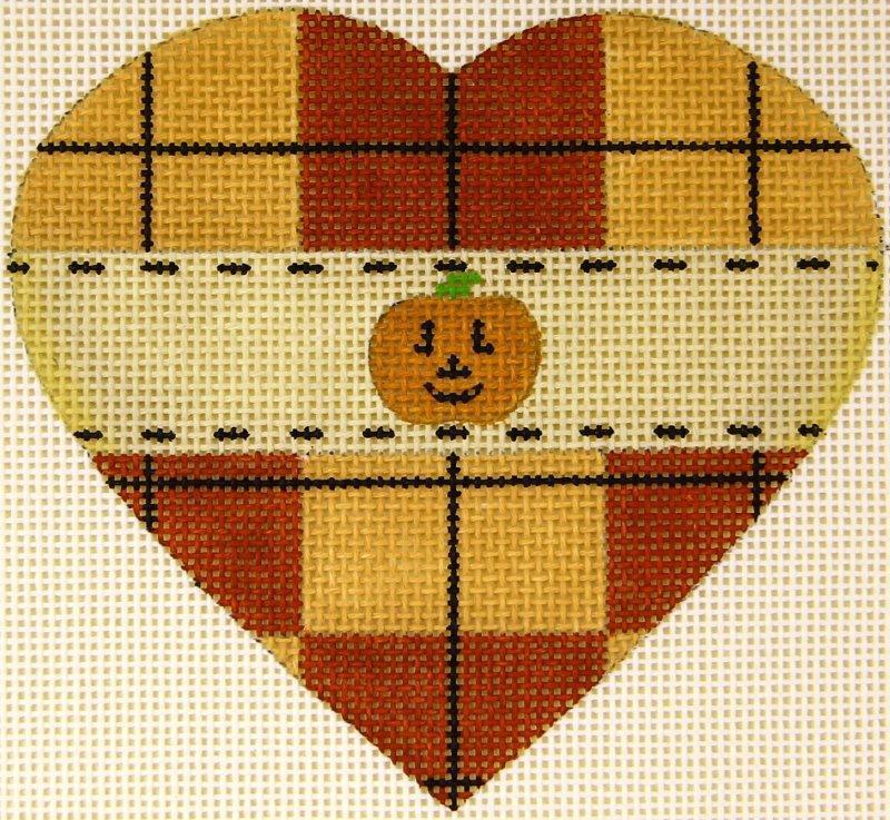 MS1942E Pumpkin Heart