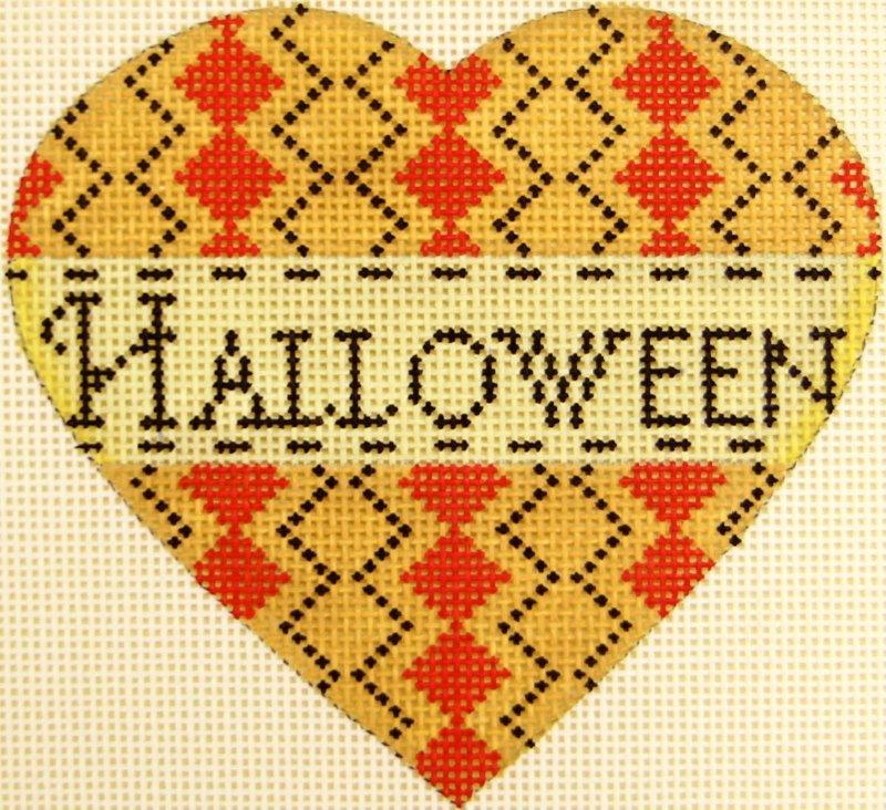 MS1942A Pumpkin Heart