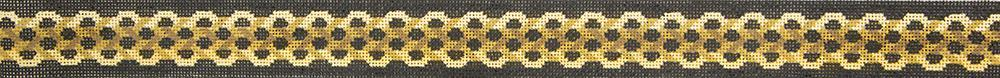 MH3504 Woven Ropes Belt Susan Roberts Needlepoint