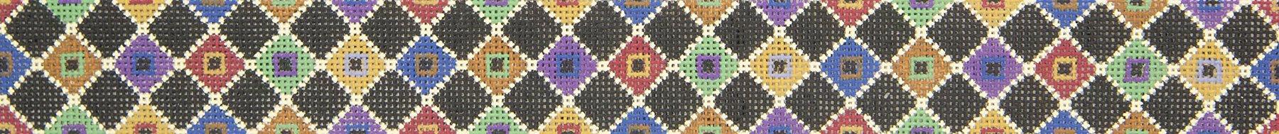 SR3502 Belt Diamond Patch Susan Roberts Needlepoint