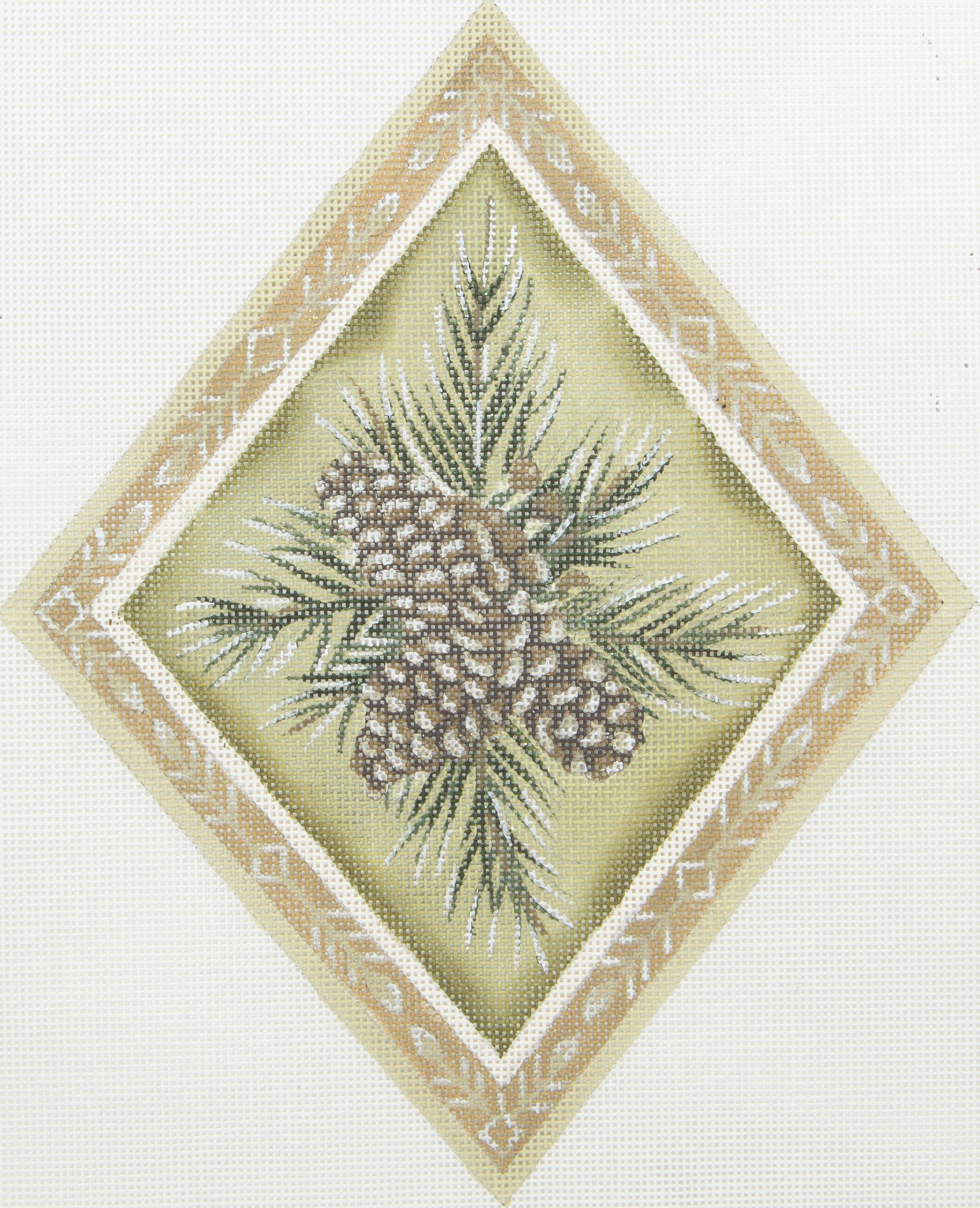 TTASP371 Evergreen Pine Diamond Susan Roberts