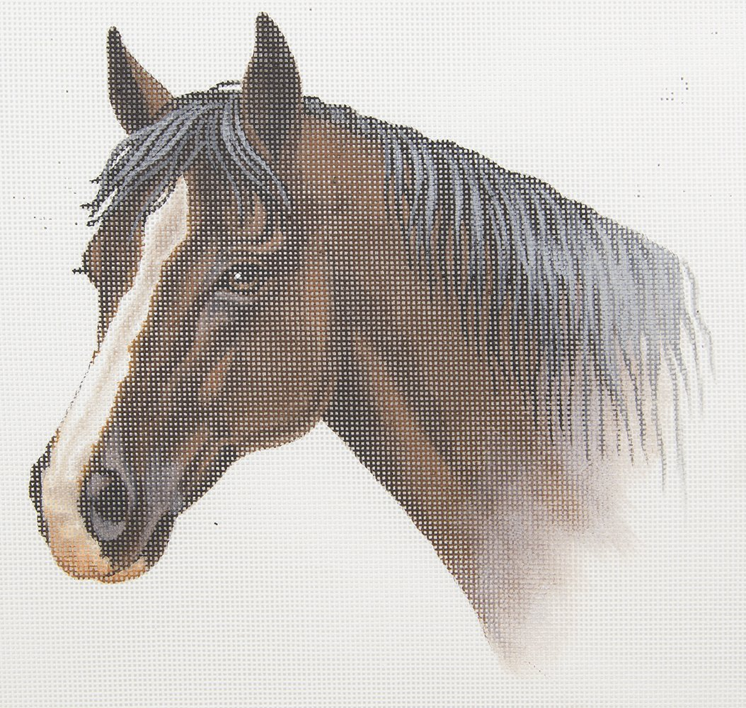 TTAP257HC Horse Head Susan Roberts