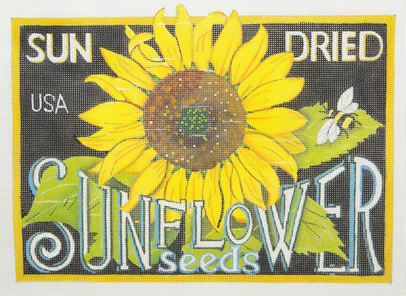 MLT428A18 Sunflower Seeds Sign Melissa Shirley