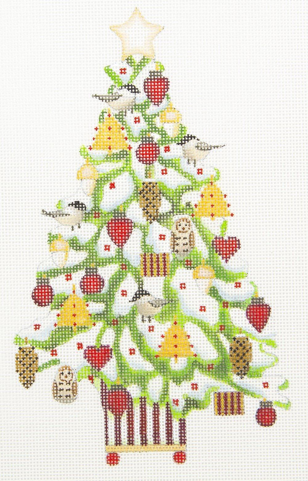 MS2091B Snowy Christmas Tree Melissa Shirley