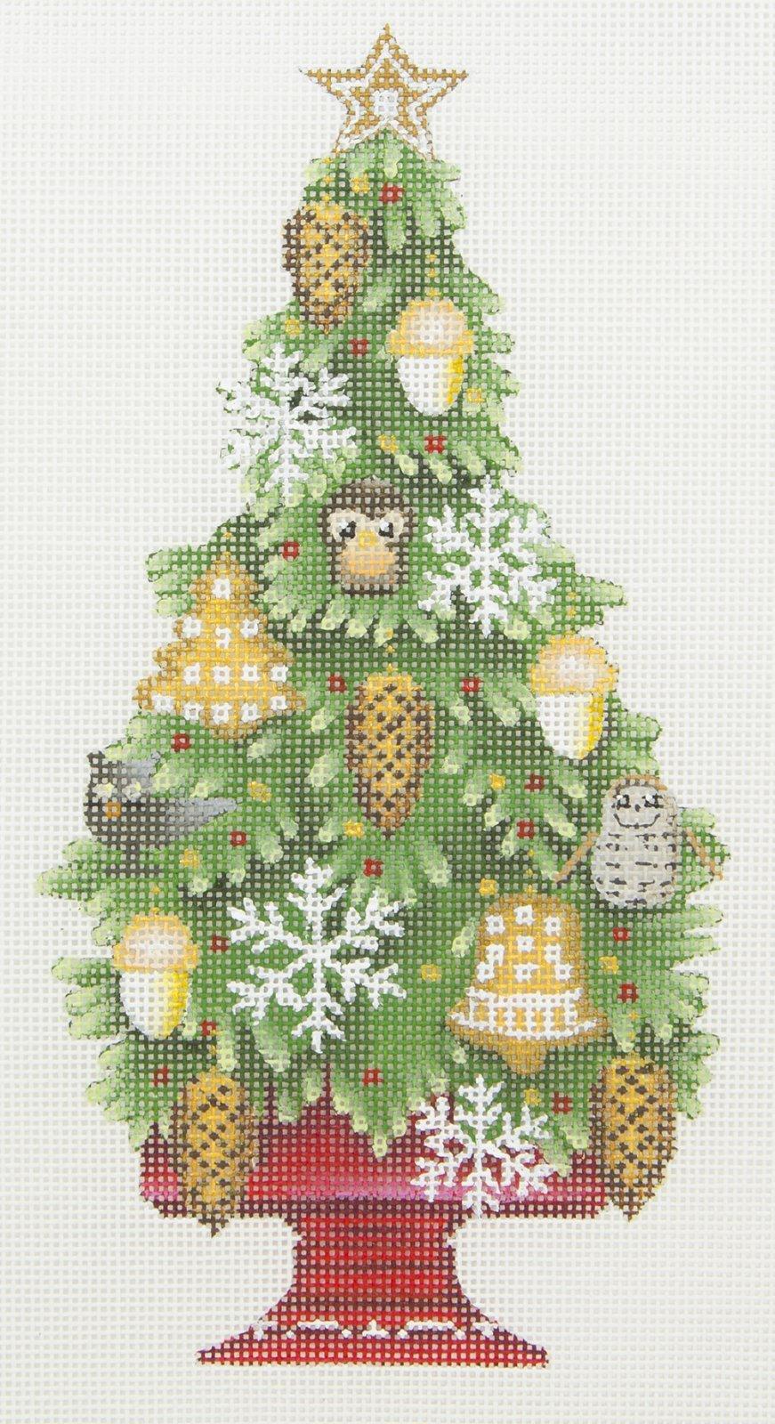 MS2091A Acorn Christmas Tree Melissa Shirley