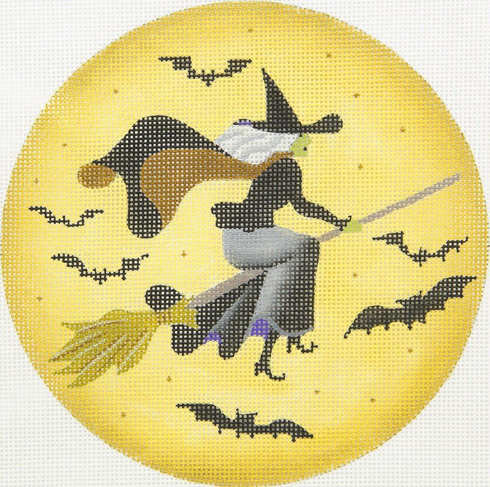 MS2051 Witch Moon Halloween Round Melissa Shirley