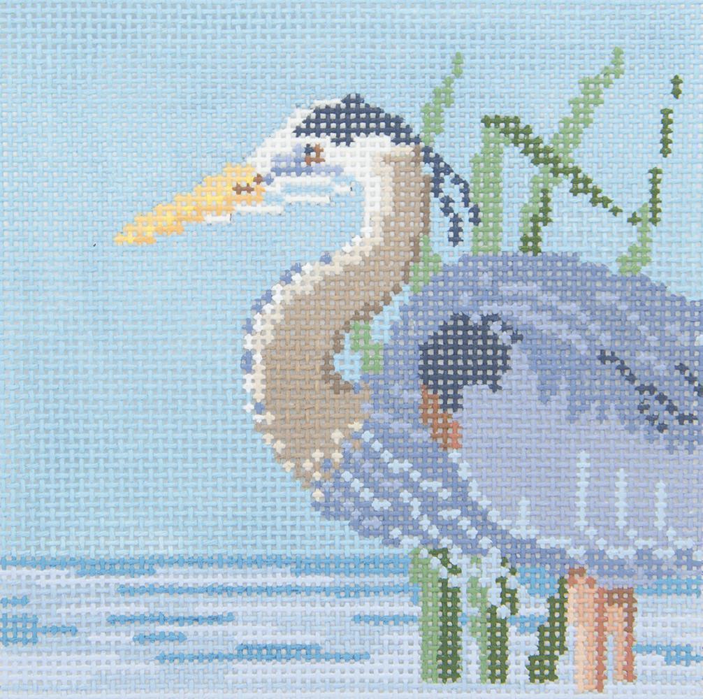 SR514C Grey Heron Susan Roberts