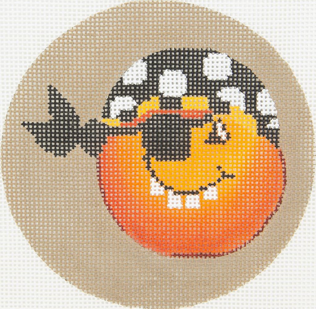 DTK9B Pumpkin Pirate Scarf Tapestry Fair