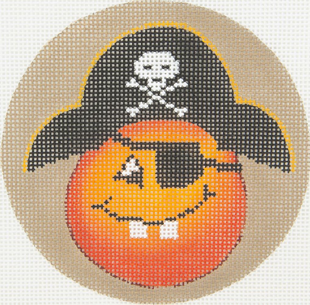 DTK9A Pumpkin Pirate Hat Tapestry Fair