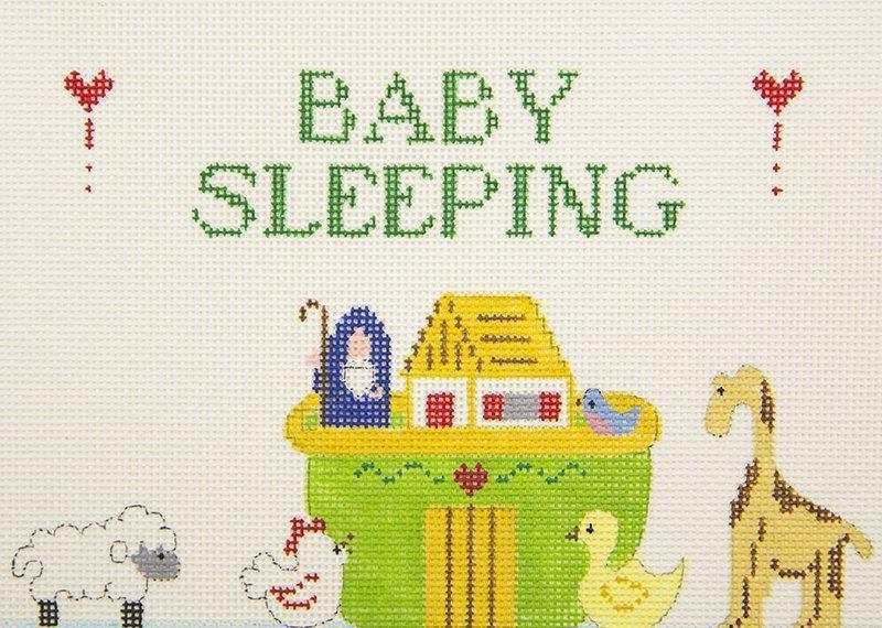 SI286A Baby Sleeping Noah Ark