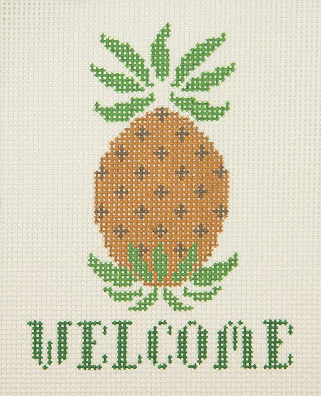 SI233B Pineapple Welcome The Collection