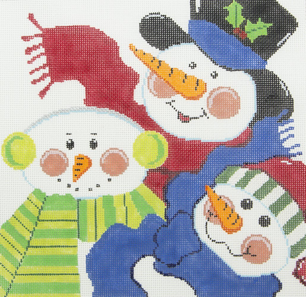 C516 Snowmen Pillow Meredith Collection