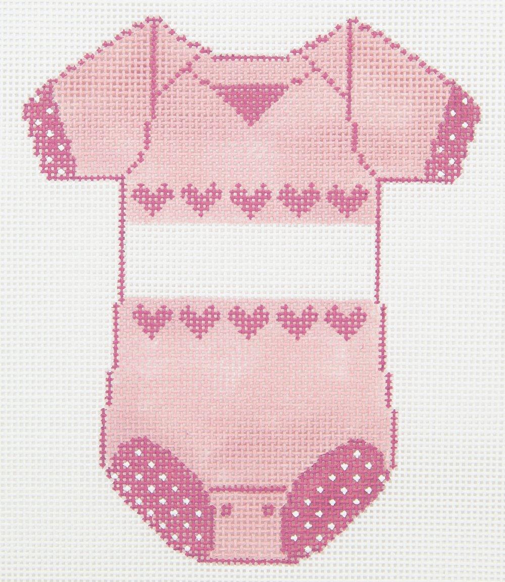 XO183 Baby Girl Onesie Meredith Collection