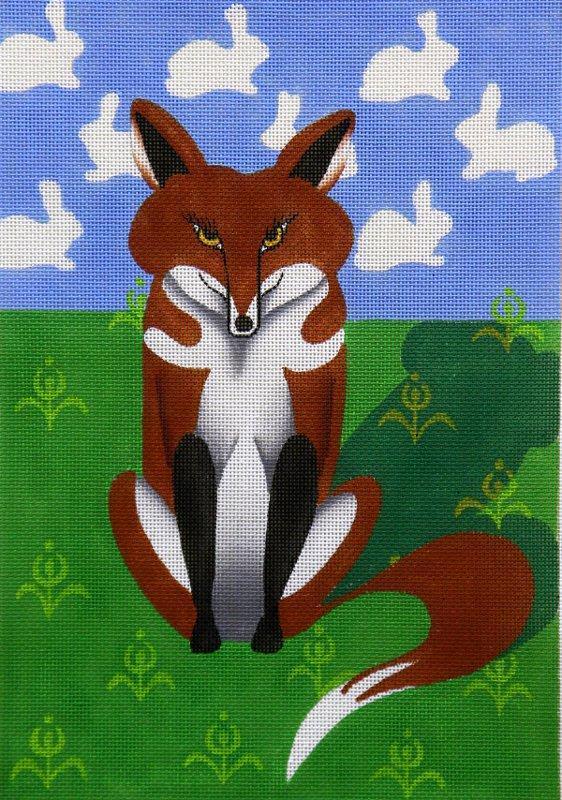 ZE296 Fox Dreaming Zecca
