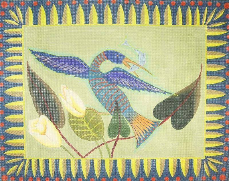 ZE274 Blue Heron Zecca