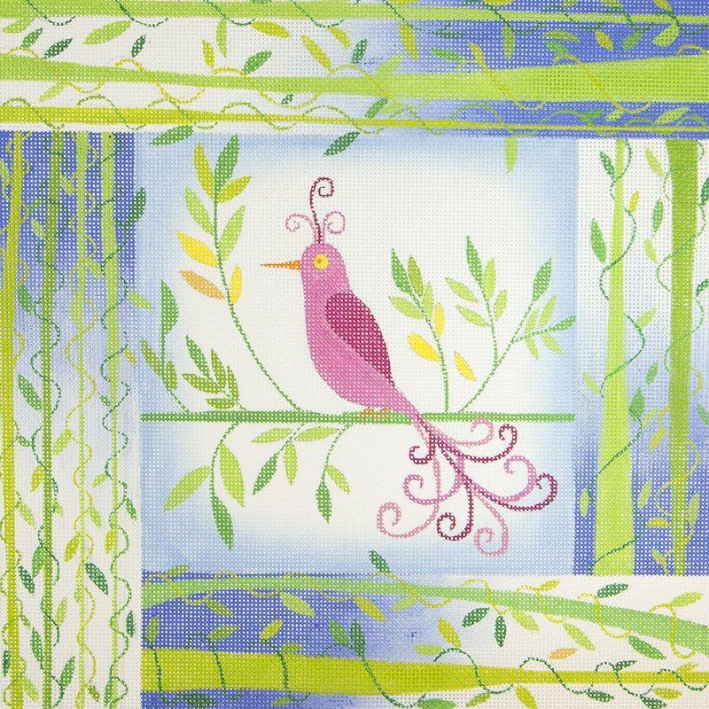 ZE215 Pink Bird Zecca
