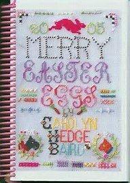 Merry Easter Eggs Needlepoint Book