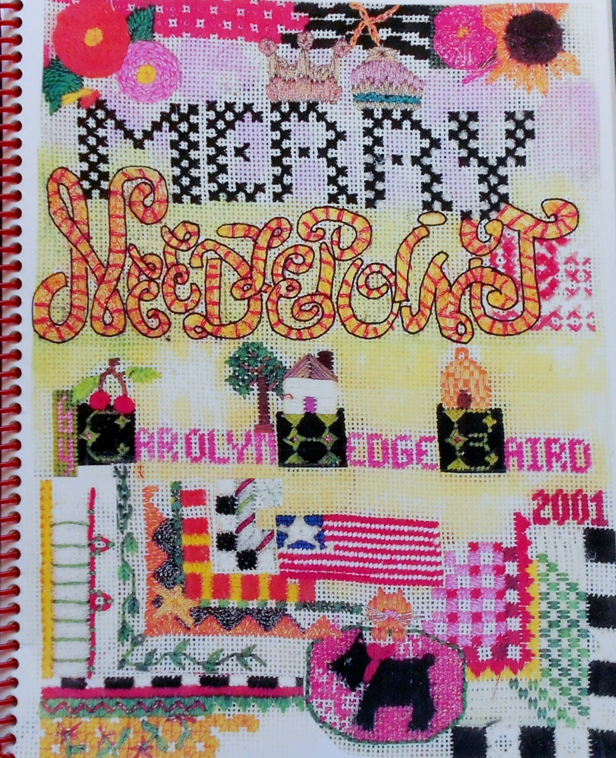 Merry Needlepoint Book