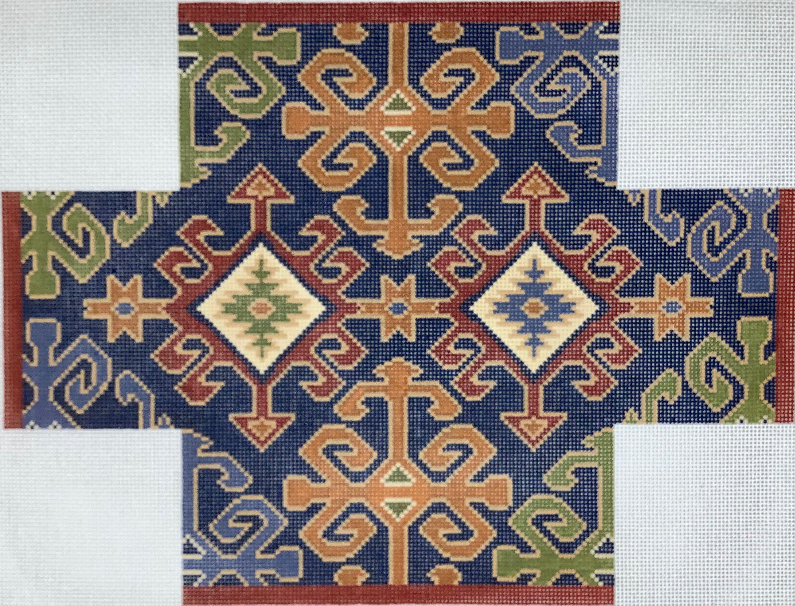 BC31B Anatolian Kilim Brick Cover CanvasWorks Traditions