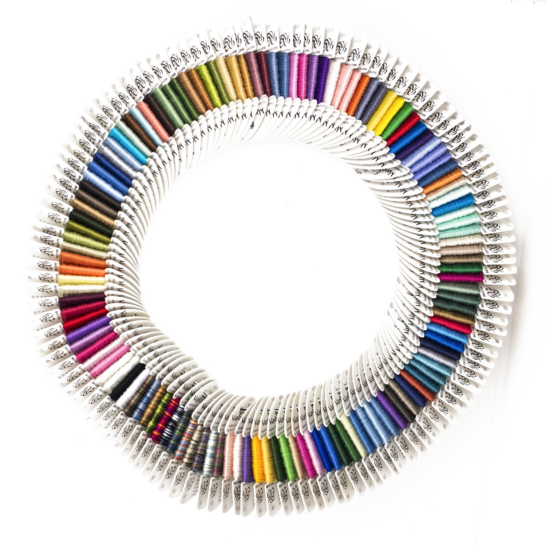 Mandarin Floss Rainbow Gallery