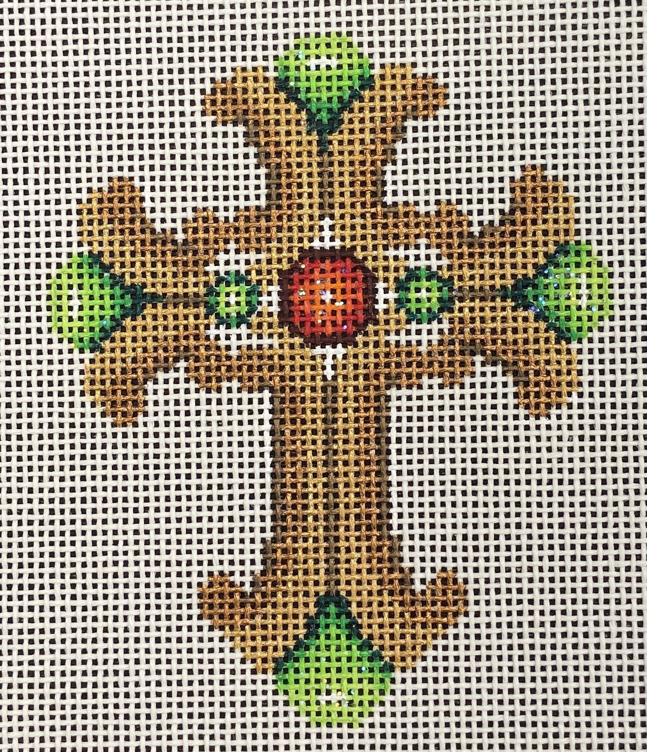 ACOD1218 Cross Green/Red