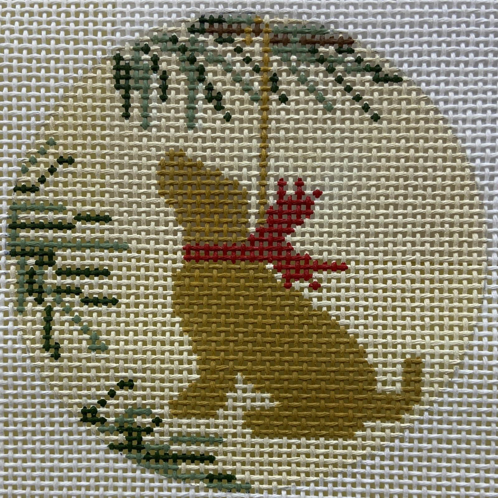 LMXO07 Yellow Lab Ornament CBK Needlepoint Collections