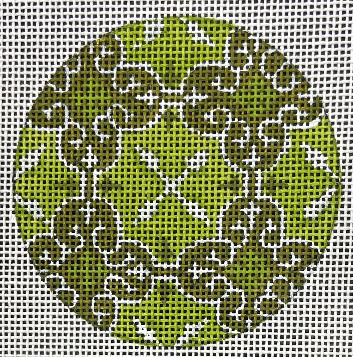 PB15541C Insert Design in Greens The Collection