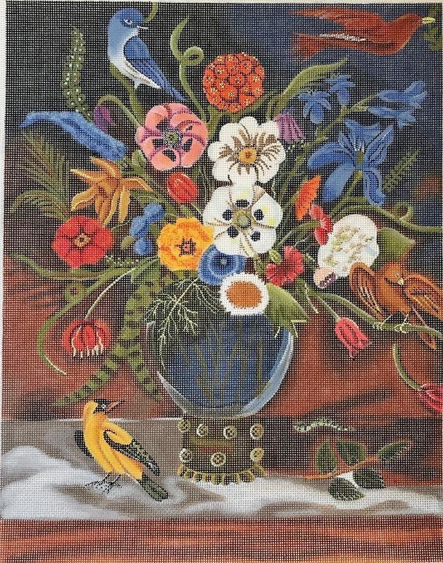PLDCN1520 Be Still Life Floral Arrangement PLD Designs